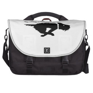 Dog Running Laptop Bags