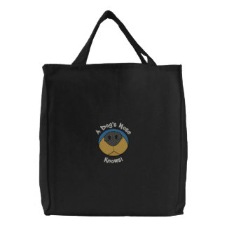 Dog s Nose Canvas Bags