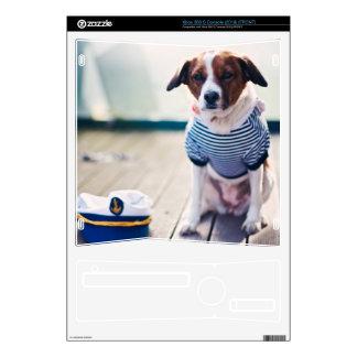 Dog Sailor Sitting Cap Clothes White Nautical Xbox 360 S Skins