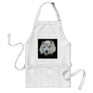 Dog Samoyed Apron