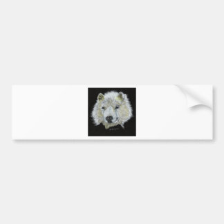 Dog Samoyed Bumper Sticker