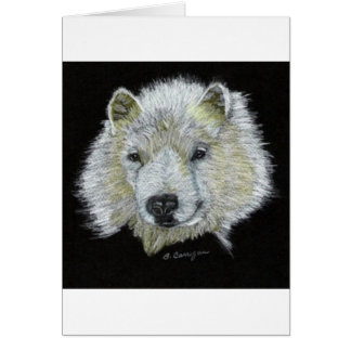 Dog Samoyed Card