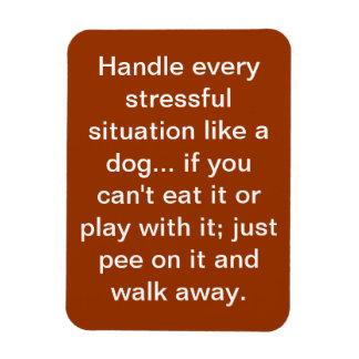 dog saying magnet