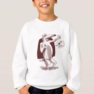 dog says wof sweatshirt