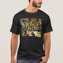 Dog School by Louis Wain T-Shirt