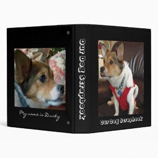 Dog Scrapbook Binder