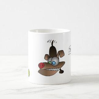 Dog Sees Ball Coffee Mugs