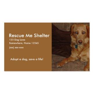 Dog Shelter Business Card