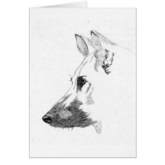 Dog Shepherd Card