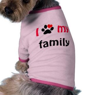 Dog Shirt - family love