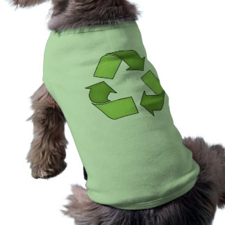 Dog Shirt-Go Green-Recyle Tee