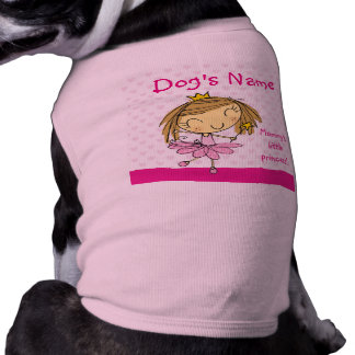 ♥ DOG SHIRT ♥ Mommy's little Princess pink outfit