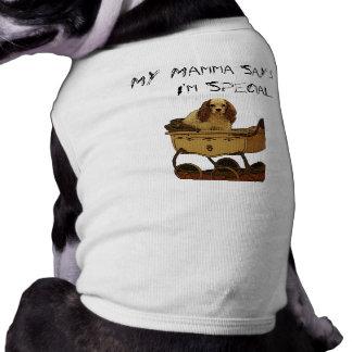 Dog shirt  My Mamma Says I'm Special