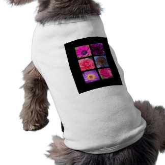 Dog Shirt - Pink Purple Flowers