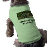 Dog Shirt with Squirrel