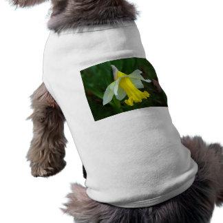 Dog Shirt - Yellow Daffodil