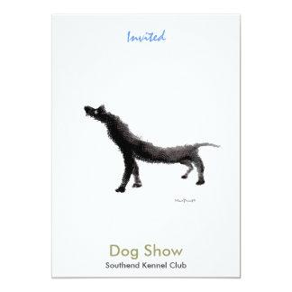 Dog Show 5x7 Paper Invitation Card