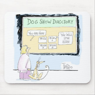 DOG SHOW DIRECTORY - Mousepad