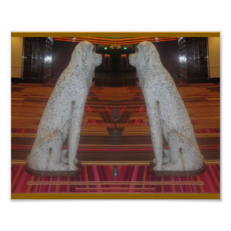 DOG SHOW : Interior Decoration Fake Stone Scuptule