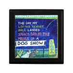 Dog Show Story Keepsake Boxes