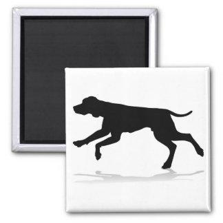Dog Silhouette Pet Animal Magnet