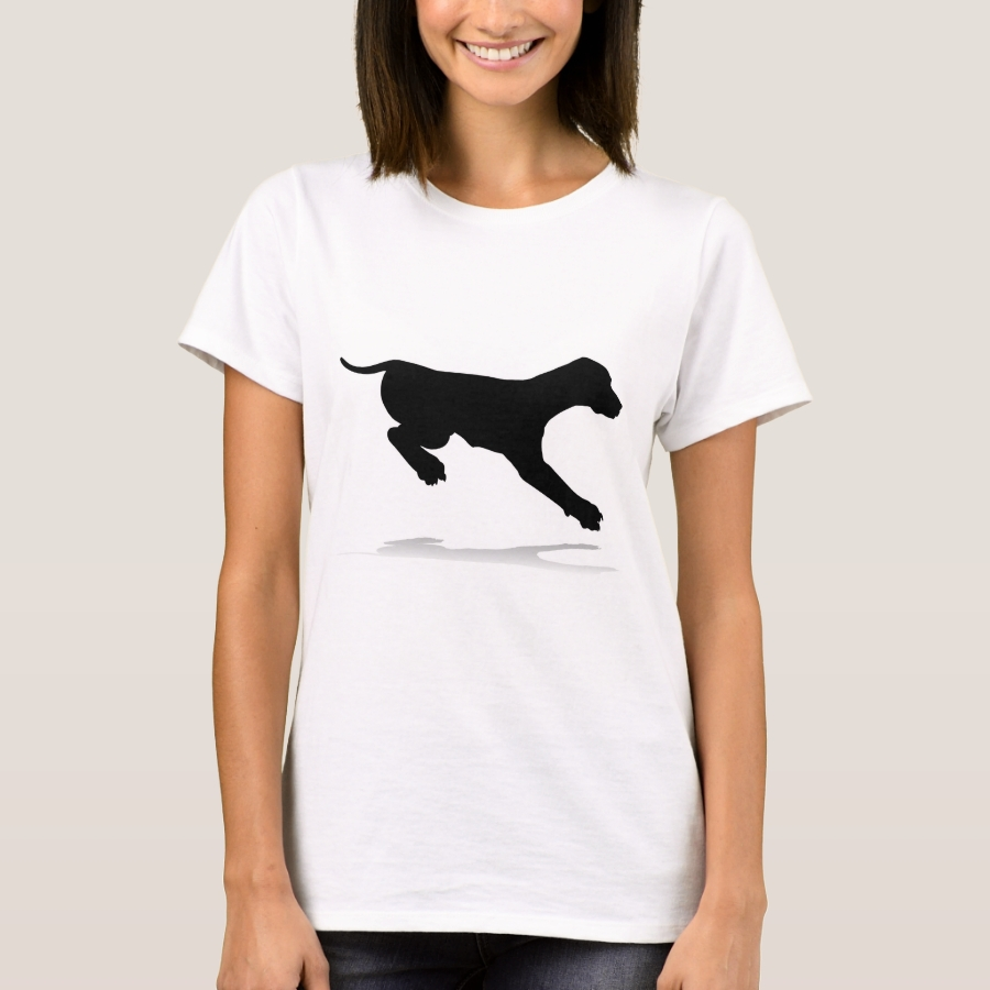 Dog Silhouette Pet Animal T-Shirt - Best Selling Long-Sleeve Street Fashion Shirt Designs