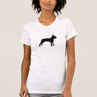 Dog Silhouette T shirt/ Boston Terrier T-Shirt