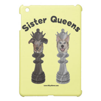 Dog Sister Chess Queens iPad Mini Covers