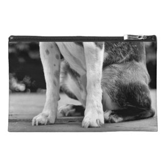 Dog Sit Boston Terrier Travel Accessory Bags
