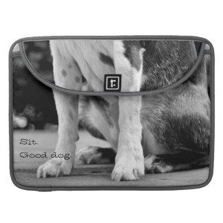 Dog Sit MacBook Pro Sleeve