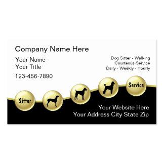 Dog Sitter Business Cards
