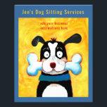 """Dog Sitter Flyer<br><div class=""""desc"""">Jen&#39;s Dog Sitting Services flyer</div>"""