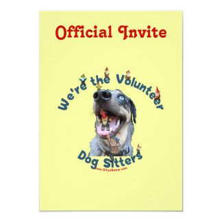 Dog Sitter Gnomes Card