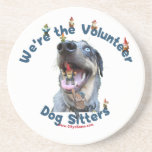 Dog Sitter Gnomes Drink Coaster