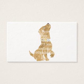 dog sitting. adopt a pet. business card