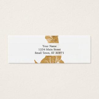dog sitting. adopt a pet. mini business card