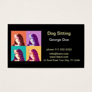 Dog Sitting Business Card