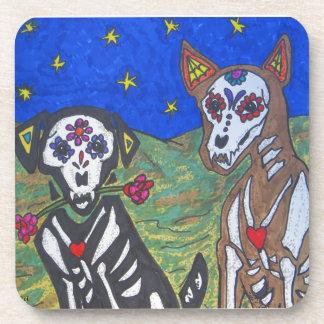 Dog Skeleton Coasters