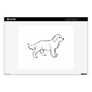 """Dog Skins For 12"""" Laptops"""