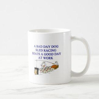 dog sled racing iditarod lover mug