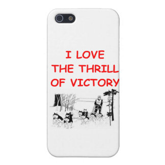 dog sled racing iPhone SE/5/5s cover