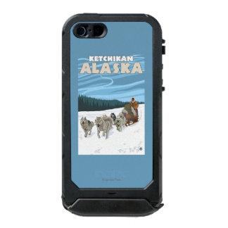 Dog Sledding Scene - Ketchikan, Alaska Waterproof Case For iPhone SE/5/5s