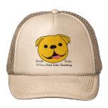 Dog Smiley Cap Trucker Hat