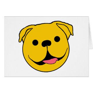 Dog Smiley Card