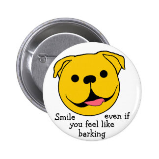 Dog Smiley Pin