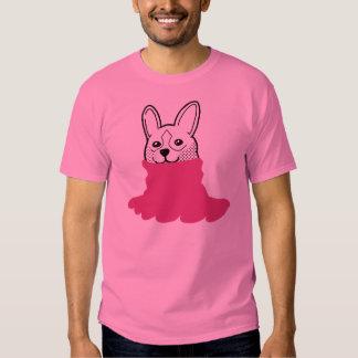 Dog Smiley Turtleneck Pink Shirt