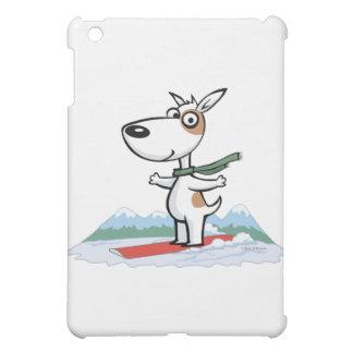 Dog Snowboarder iPad Mini Cases