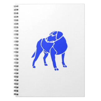 Dog Spiral Notebook