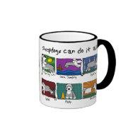 Dog Sports Old English Sheepdog Mug
