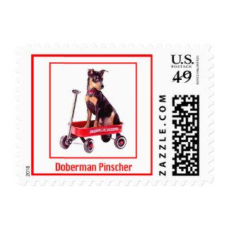 Dog Stamps - Doberman Pinscher